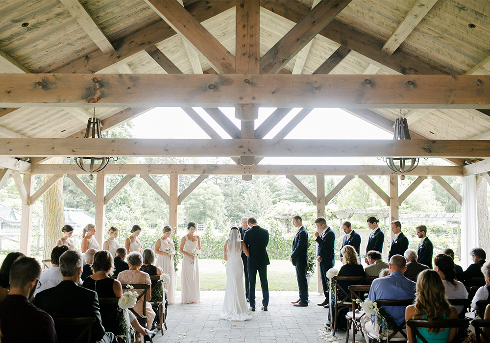 Firshade & Summer House Wedding at Langdon Hall, Cambridge, Ontario