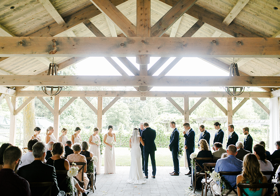 Summer House Wedding