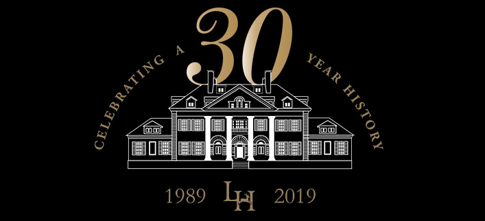 Langdon Hall 30th anniversary logo