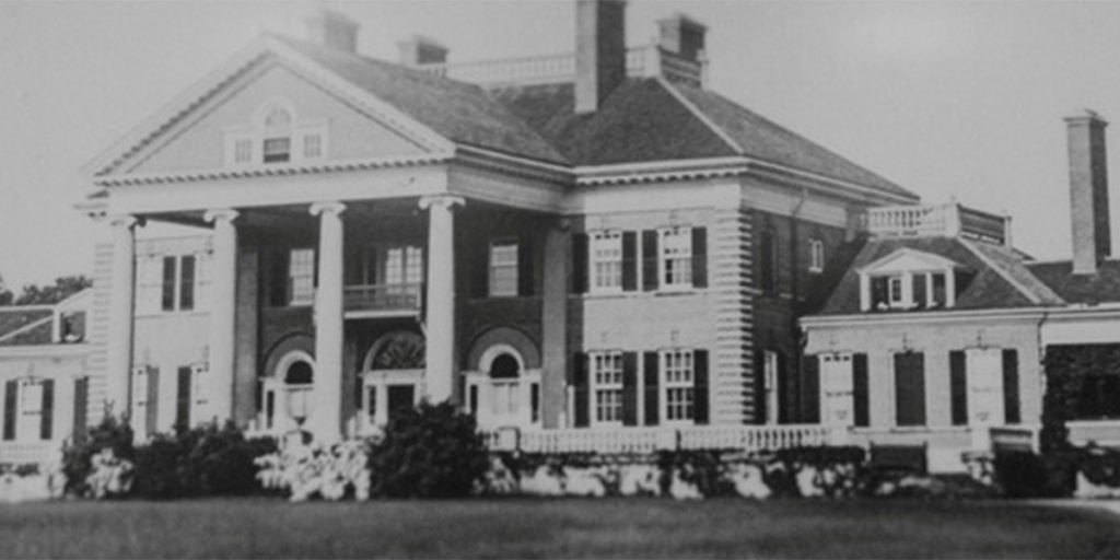 old photo of langdon hall
