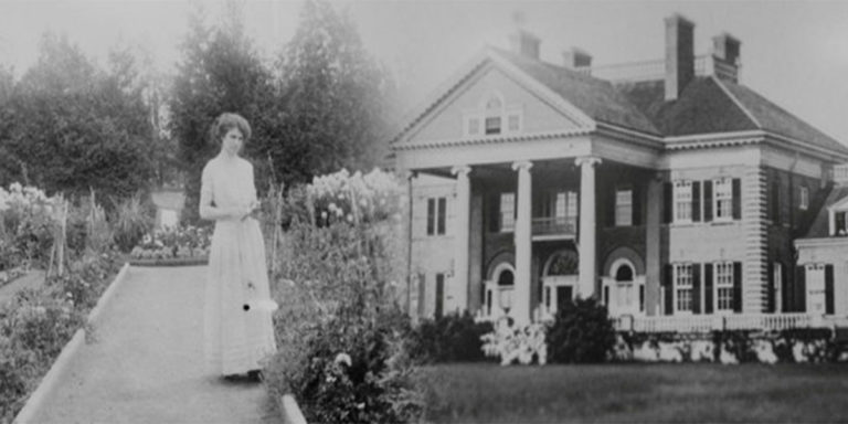 black and white photo of Langdon Hall