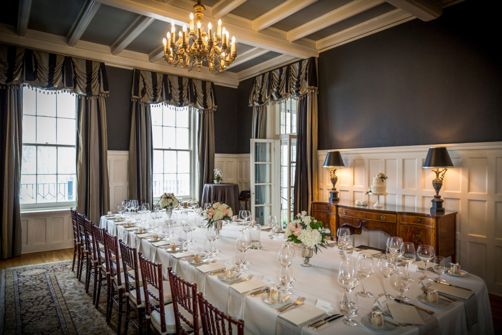 old fashion dining room
