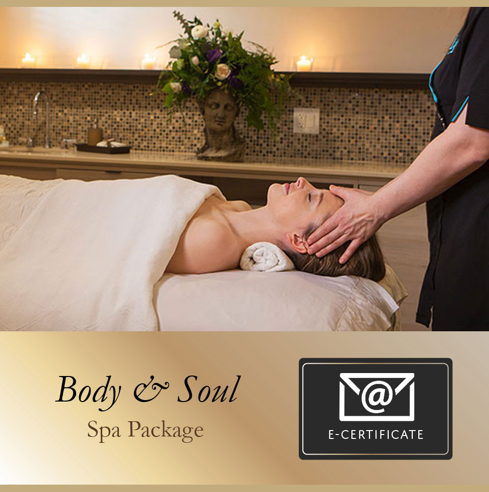 Body & Soul Spa Package E-Certificate