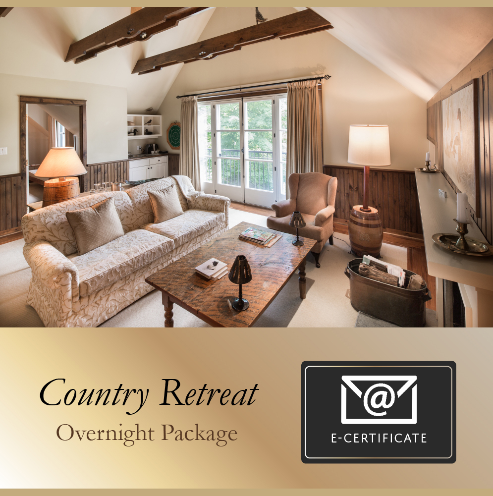 Country Retreat Package E-Certificate