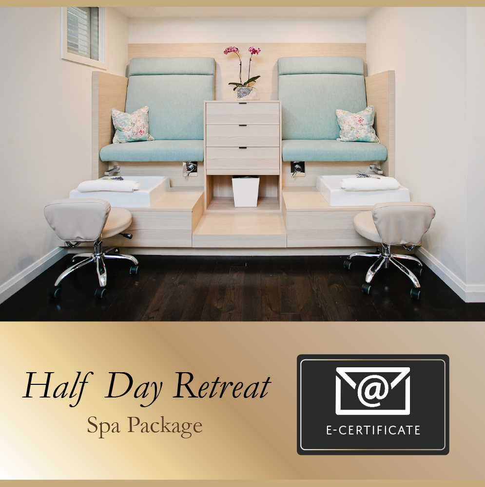 Half Day Retreat Spa Package E-Certificate