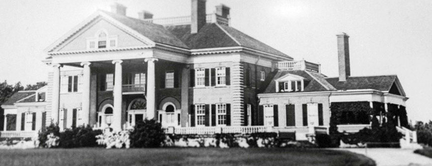 Historical photo of Langdon Hall Main House
